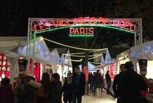 Christmas festival on Champs Elysses