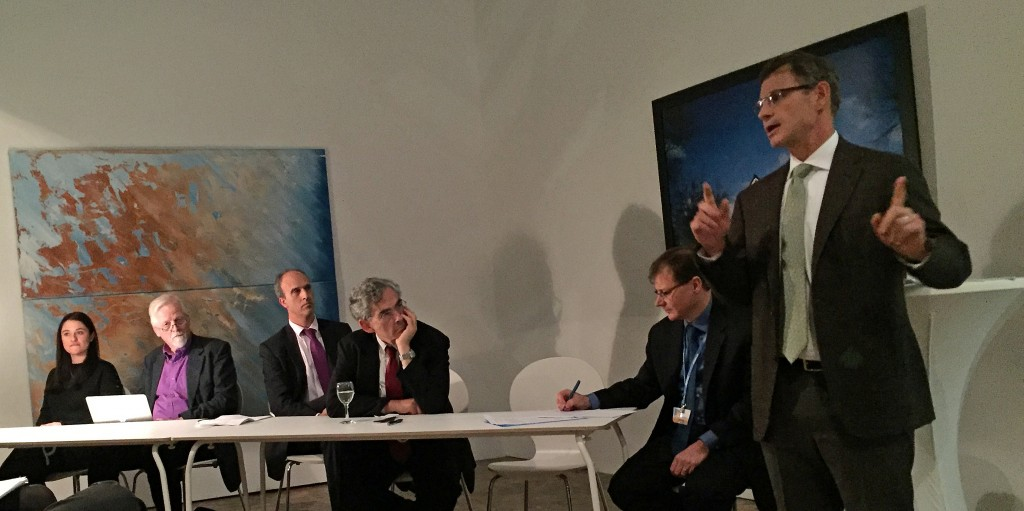Matt Pawa presented a RICO case against Exxon.