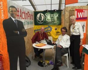 Sierra Club booth