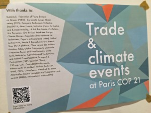 Trade and climate meeting