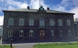 Iceland's Alþingi parliament building
