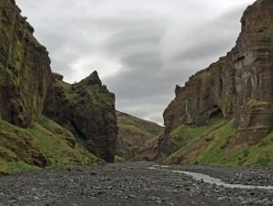 Stakkholtsgjá gorge at Þórsmörk