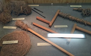 Household items made from lyme grass