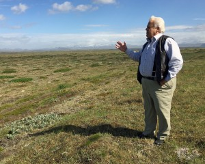 Sveinn Runolfsson describes efforts by the Soil Conservation Service to restore desertified land.
