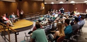 We held a showing of Reinventing Power with a panel discussion on August 9, 2019. About 45 people attended.