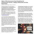 State of Ohio Grants