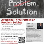 Problem Solving Webinar