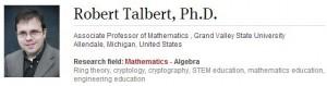 Robert Talbert