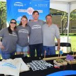 ENGIE staff at WestFest booth