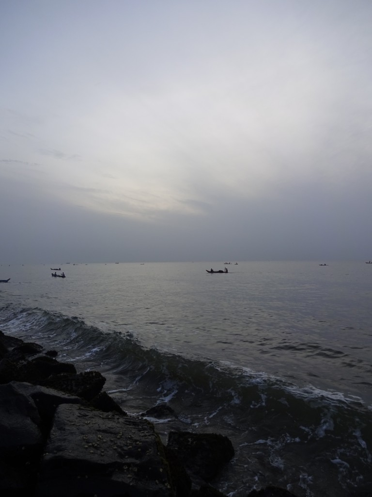 Sunrise on the Bay of Bengal