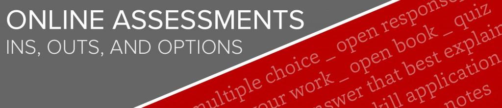 Online assessment banner