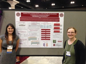 Presenting my research at the SACNAS National Conference in Los Angeles, California.