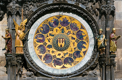 The Old Town Astronomical Clock in Prague