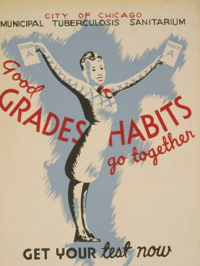 Good Grades and Habits Go Together Poster