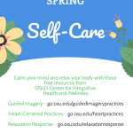 Spring Self-care