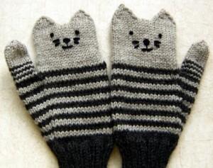 kitten mittens