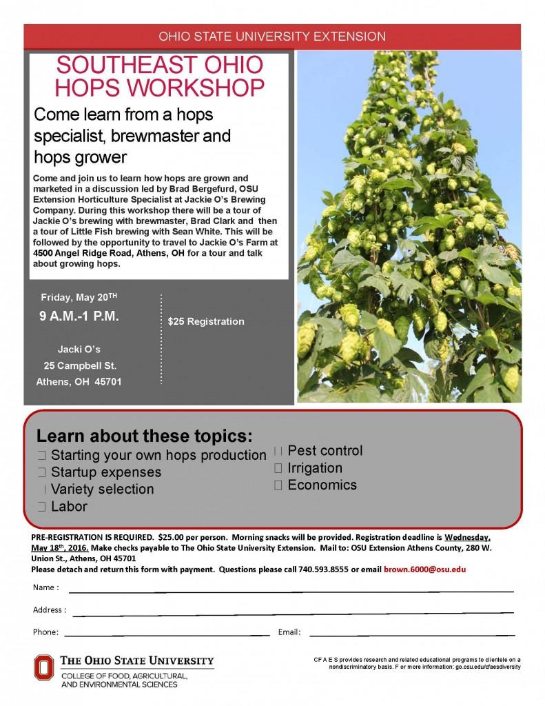 Hops Workshop