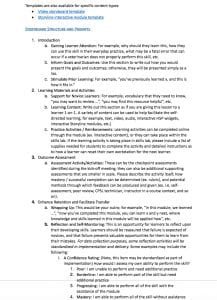 Screenshot of the CPSL document