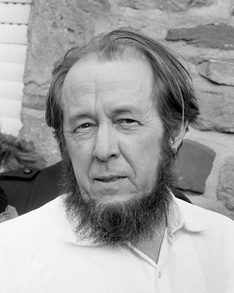 photo of Aleksandr Solzhenitsyn
