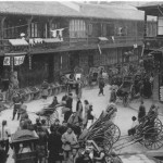 Beijing street scene, ca. 1900