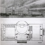 Architecture sketch of the proposed Great Hall of the People