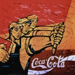 Wang Guangyi's painting, Great Castigation Series: Coca-Cola