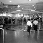 shopers inside the Tianhe Shopping Center, Guangzhou
