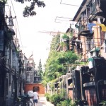 Republican-era Shanghai alleyway