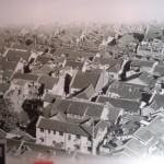 Old photo of shikumen residences in Republican-era Shanghai