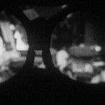 Blurry view through the spectacles in Laborer's Love (dir. Zhang Shichuan, 1922)