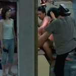 Xiao Kang performs with his lifeless costar in Tsai Ming-liang's The Wayward Cloud