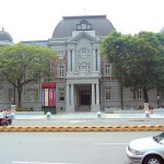 Outdoor view of National Museum of Taiwan Literature in Tainan