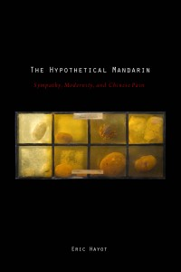 Eric Hayot. The Hypothetical Mandarin: Sympathy, Modernity, and Chinese Pain. Oxford, New York: Oxford University Press, 2009. pp. 296. ISBN13: 9780195382495; ISBN10: 0195382498 .
