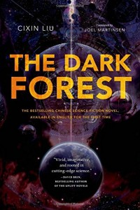 Liu Cixin. The Dark Forest. Tr. Joel Martinsen. New York: Tor Books, 2015. 512 pp. ISBN-10: 076537708X; ISBN-13: 978-0765377081.