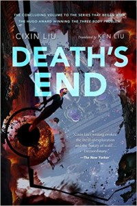 Liu Cixin. Death's End. Tr. Ken Liu. New York: Tor Books, 2016, forthcoming. 592 pp. ISBN-10: 0765377101; ISBN-13: 978-0765377104.