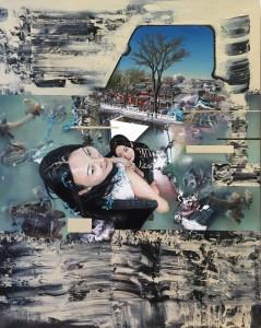后海 Houhai Lake, Acrylic and Oil on Canvas 150x200cm 2015.jpg