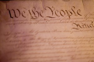 """US Constitution"" by Kim Davies (CC BY-NC-ND 2.0)"