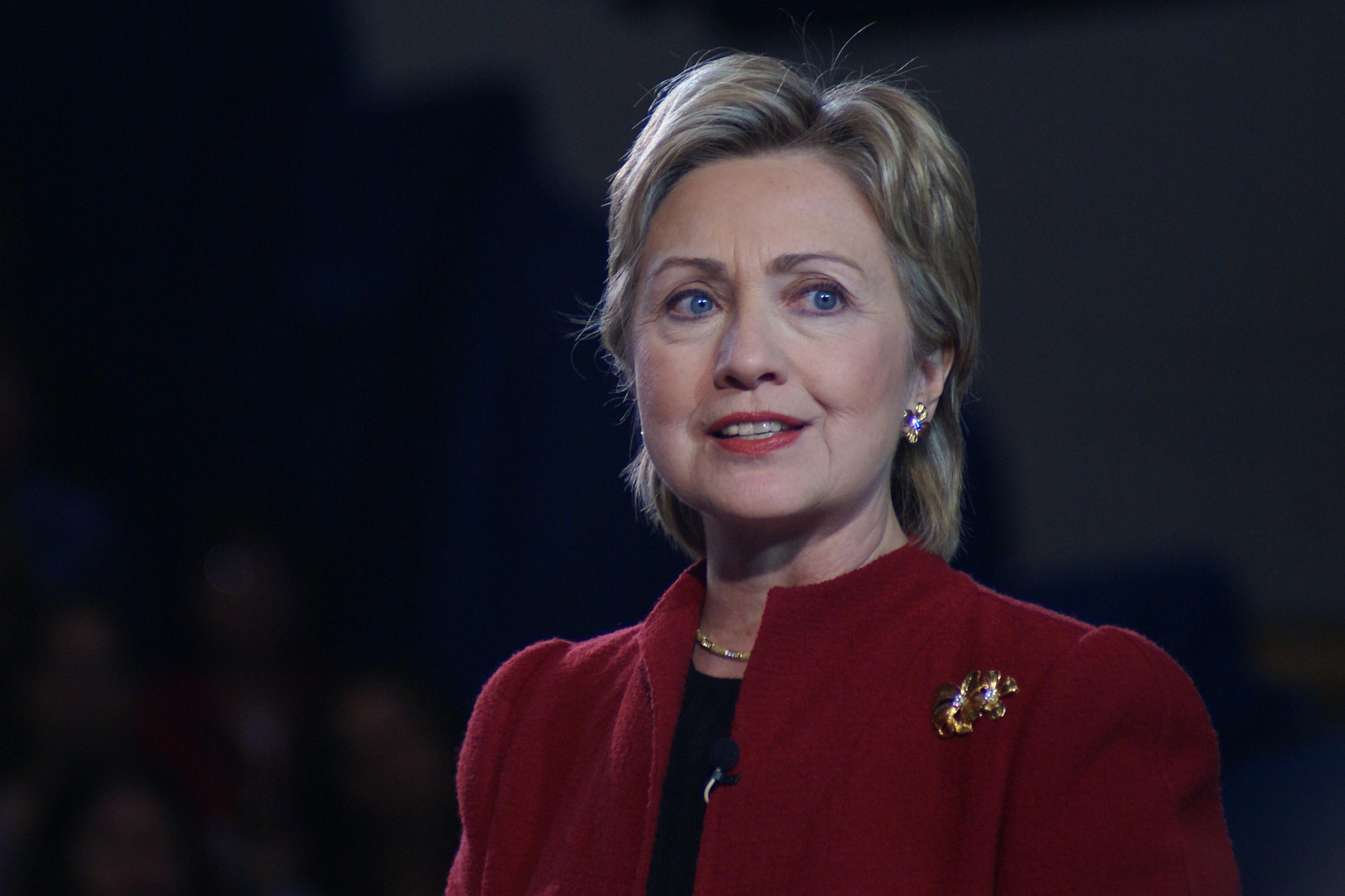 """""""Hillary Clinton in Hampton, NH"""" by Marc Nozell (CC BY 2.0)"""