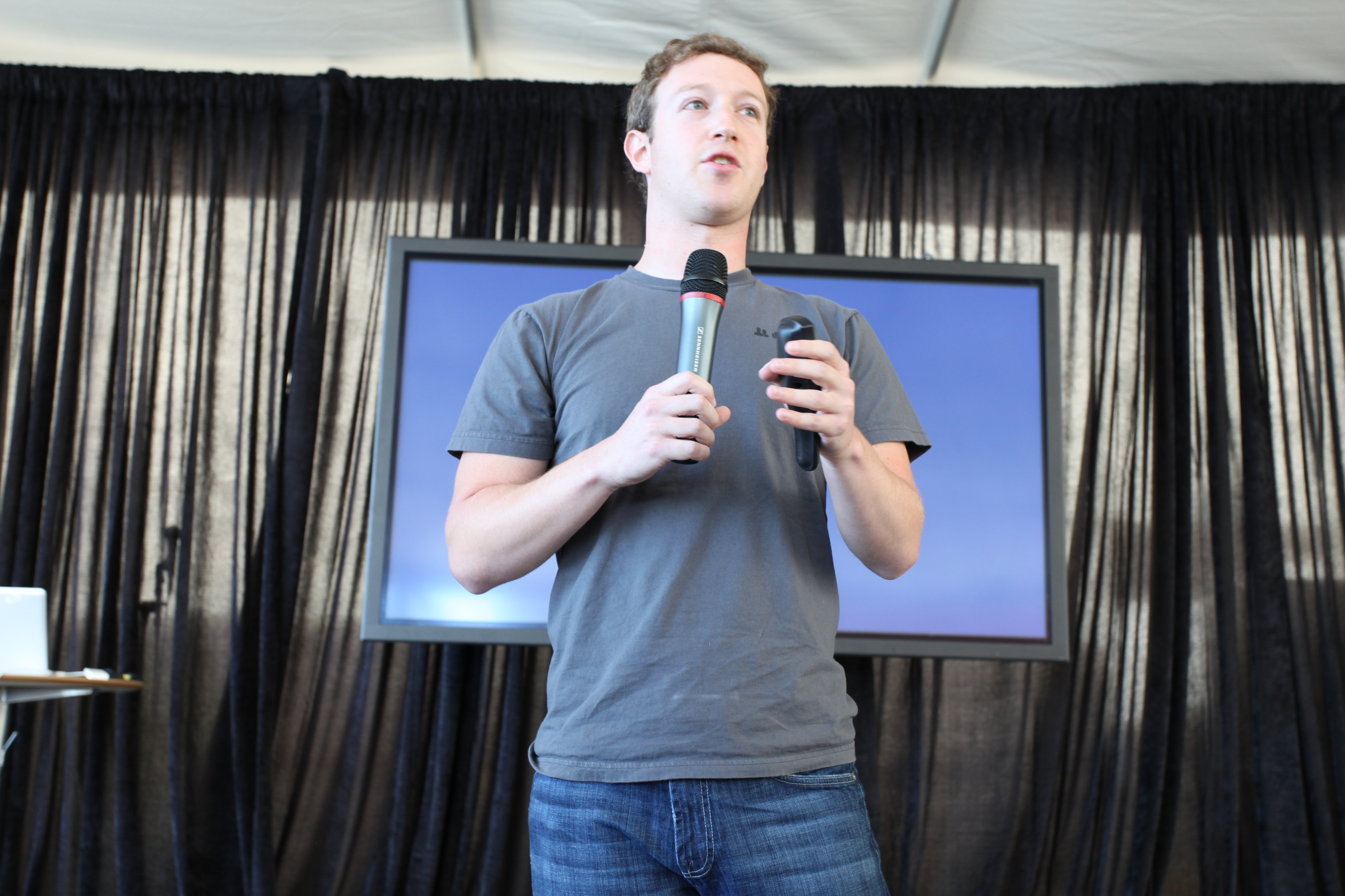 """""""Facebook Press Conference"""" by Robert Scoble (CC BY 2.0)"""