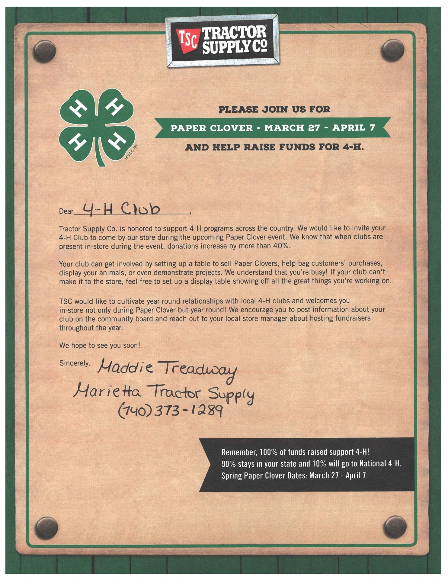 Fundraisers | Washington County 4-H | Page 2