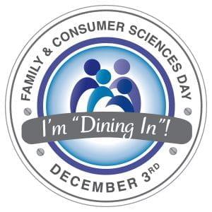 I'm dining in round logo