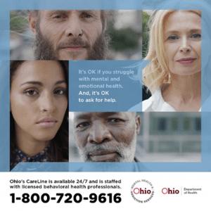 Ohio Care Line 1-800-720-9616