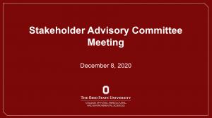 08 Dec 20 Advisory Board