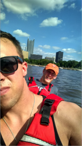 Kayaking with Pat