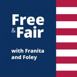 Free and Fair with Franita and Foley podcast logo