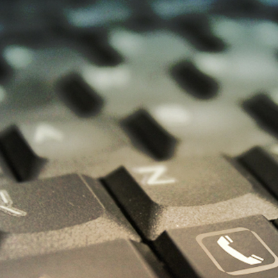computer keyboard close-up image