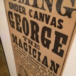 Movie poster. Large text reads George the Magician, followed by smaller print below.