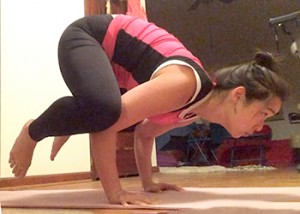 achievement unlocked crow pose  queenie chow