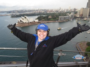 Sydney Harbour Bridge Climb - Allie Stevens