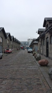 A street of Vesterbro, Copenhagen